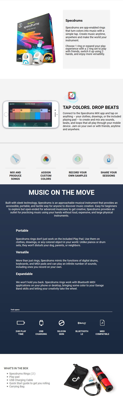 Sphero Specdrums - 2 Rings - Desktop Overview 1