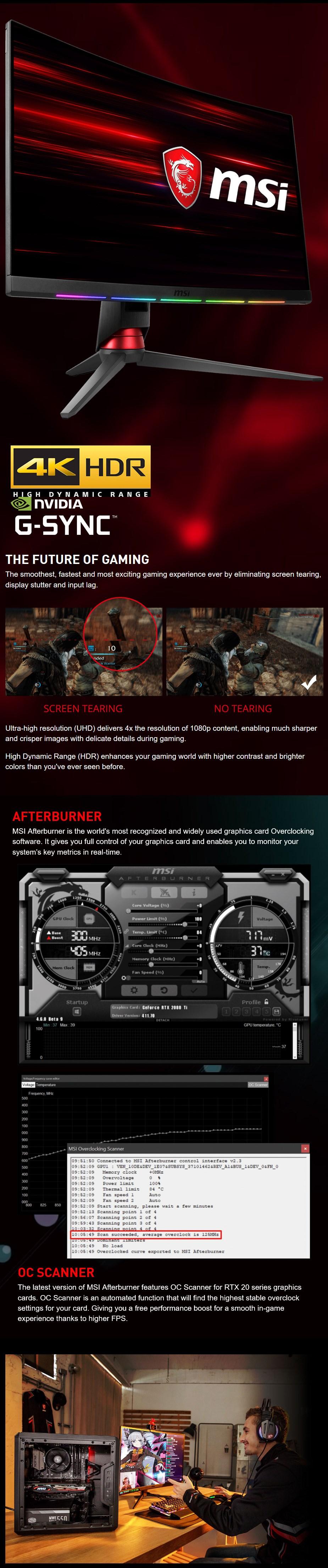 MSI GeForce RTX 2070 AERO ITX 8GB Video Card - Desktop Overview 2
