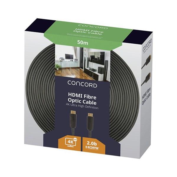 ConCord 4K HDMI Fibre Optic Cable - 50m - Desktop Overview 1