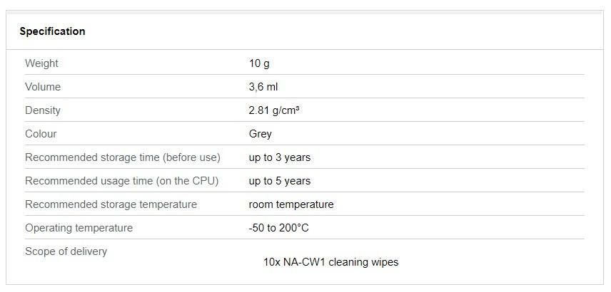 Noctua NT-H2 Thermal Compound - 10g - Desktop Overview 4