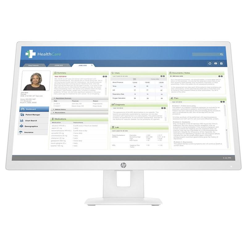 HP HC271/HC271p Monitor Stand - Desktop Overview 2