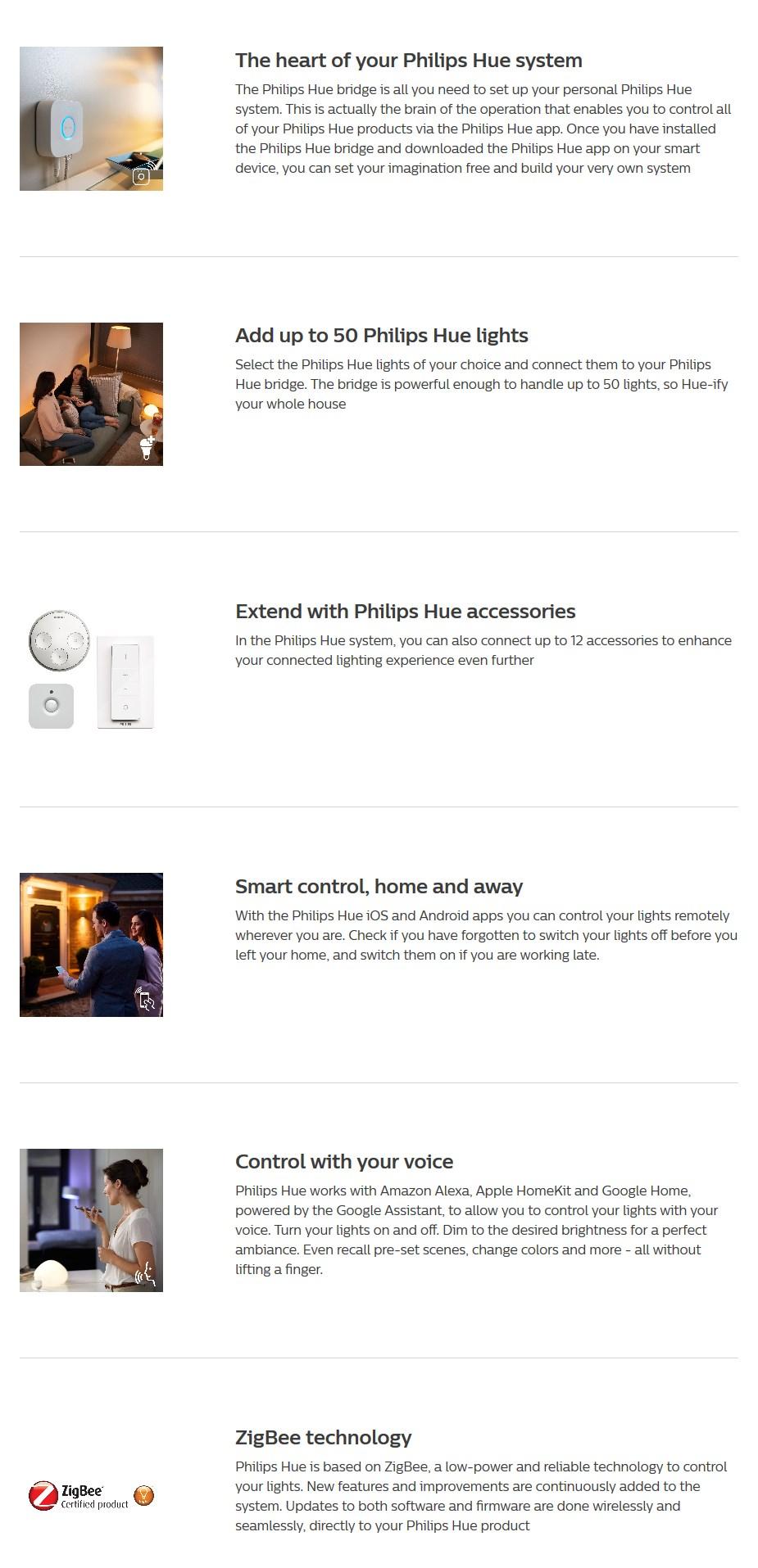 Philips Hue Smart Bridge - Desktop Overview 2