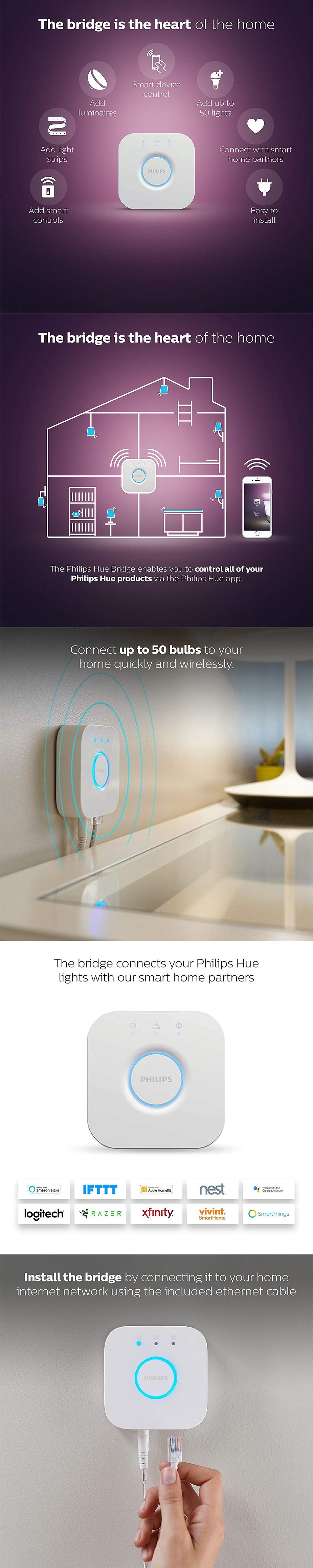 Philips Hue Smart Bridge - Desktop Overview 1