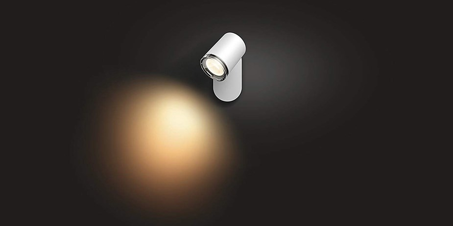 Philips Hue Adore White Ambience Single-Spot Bathroom Light - Overview 2