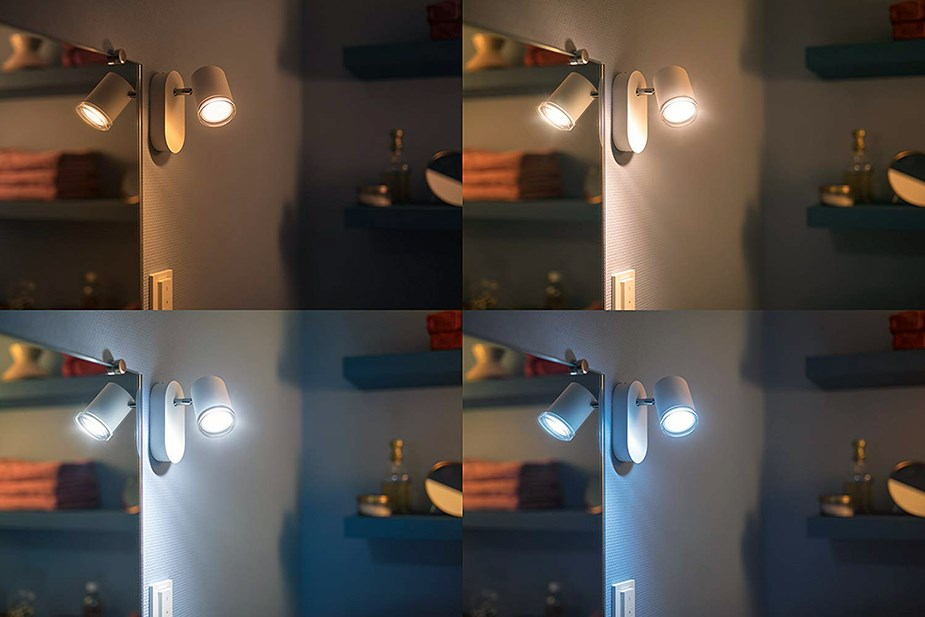 Philips Hue Adore White Ambience Single-Spot Bathroom Light - Overview 1