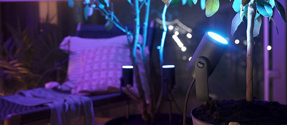 Philips Hue White/Colour Ambience Lily Outdoor Spot Light Extension Kit - Desktop Overview 4