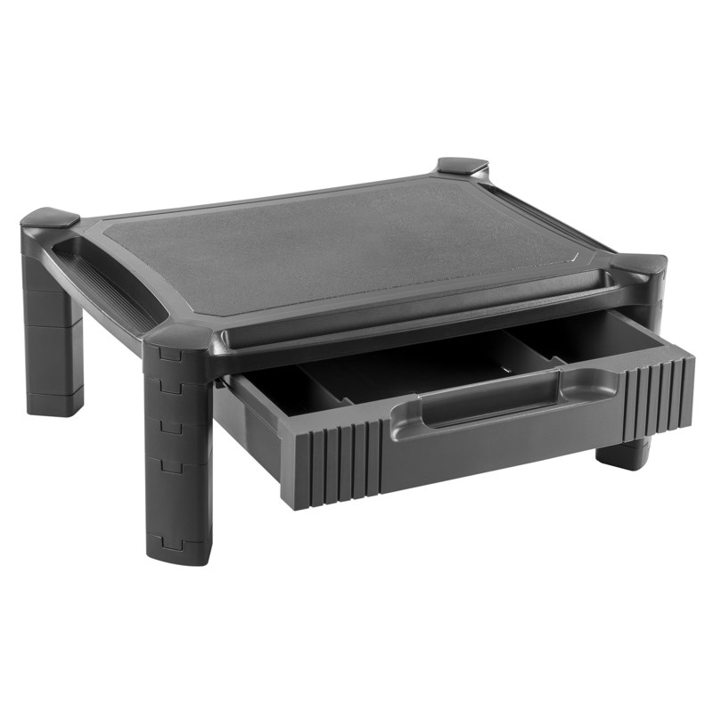 TiXX MSSDRAW Monitor Smart Stand with Drawer - Desktop Overview 2