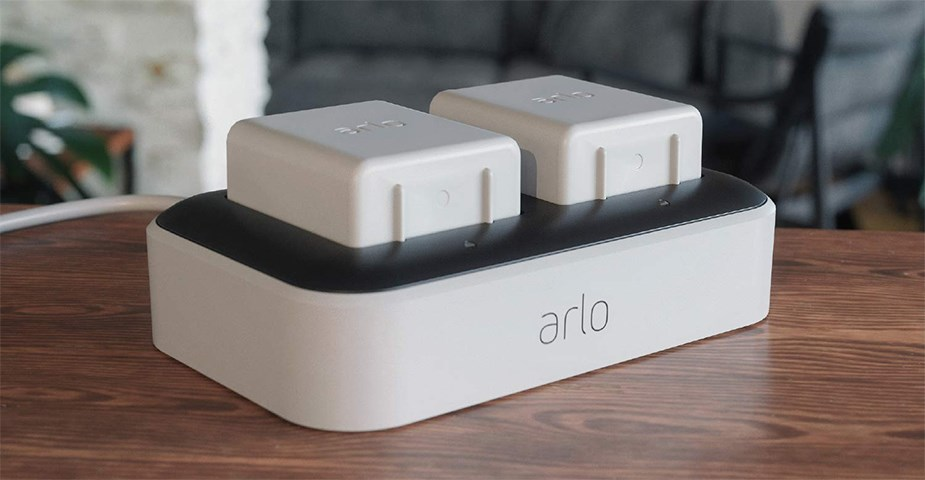 Arlo Ultra Dual Charging Station - Desktop Overview 1