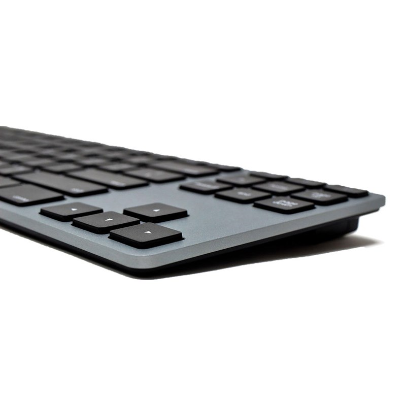 Matias FK308B TKL Aluminum Keyboard for Mac - Space Gray - Desktop Overview 1