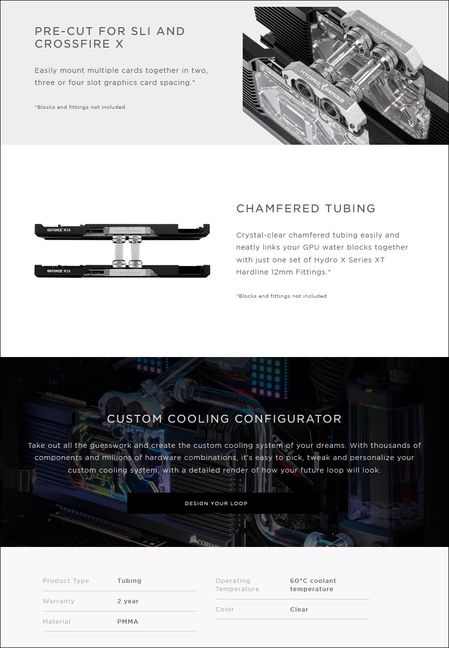 Corsair Hydro X Series XT Hardline 12mm Multicard Kit - Overview 1