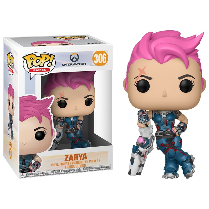Overwatch - Zarya Pop! Vinyl - Overview 1