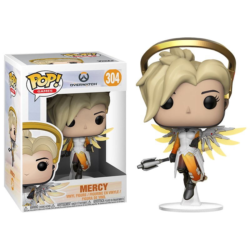 Overwatch - Mercy Pop! Vinyl - Overview 1