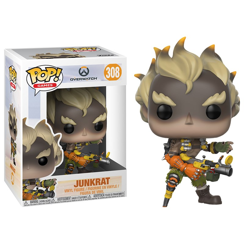 Overwatch - Junkrat Pop! Vinyl - Overview 1
