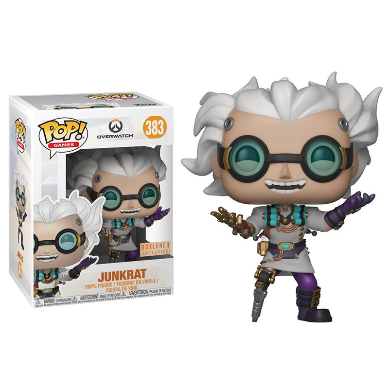 Overwatch - Junkrat Junkenstein US Exclusive Pop! Vinyl - Desktop Overview 1