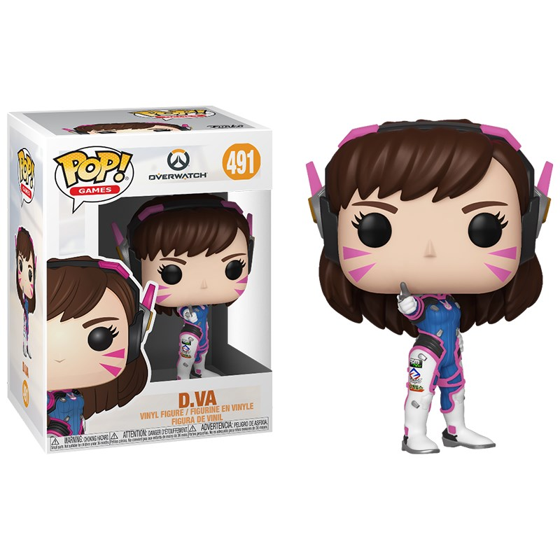 Overwatch - D.Va Pop! Vinyl - Overview 1