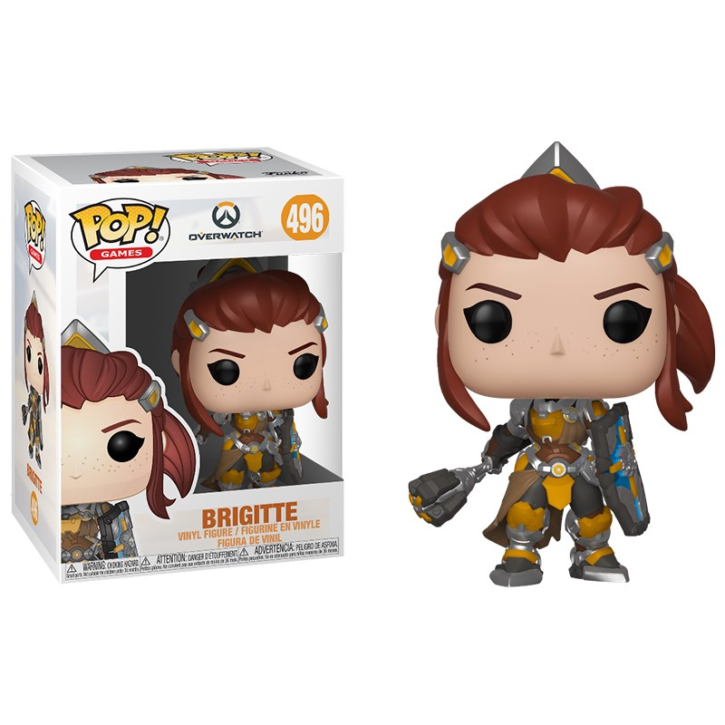 Overwatch - Brigitte Pop! Vinyl - Desktop Overview 1