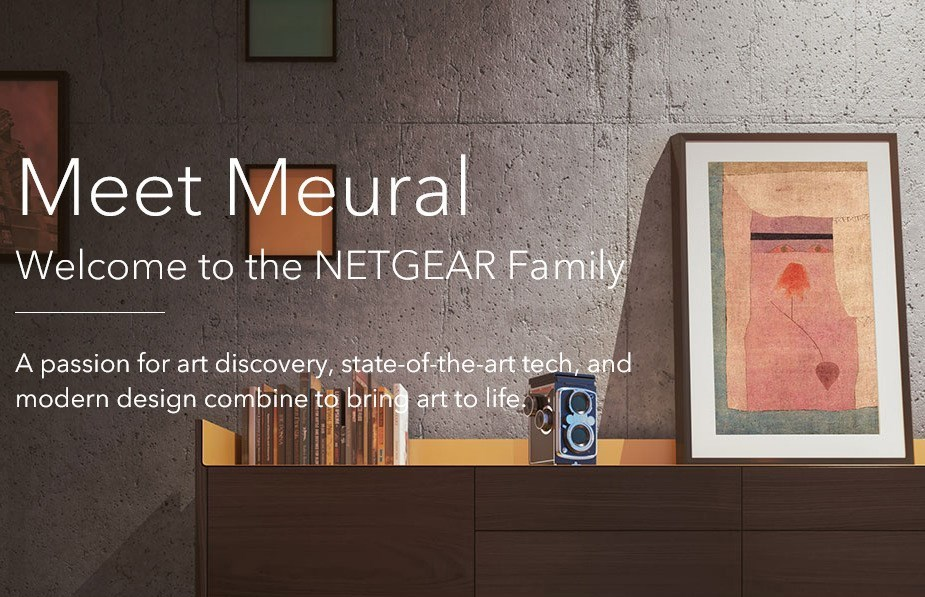 Netgear Meural Swivel Mount - Desktop Overview 1
