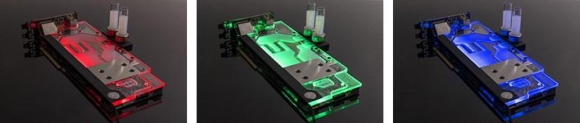 EKWB EK-FC1080 GTX Ti Aorus RGB - Nickel Plexi GPU Water Block - Overview 2