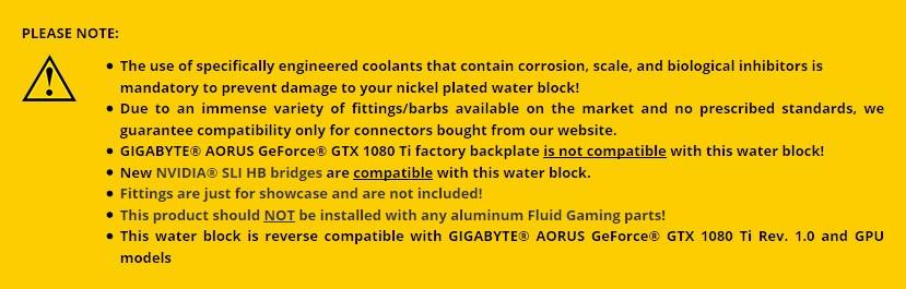 EKWB EK-FC1080 GTX Ti Aorus RGB - Nickel Plexi GPU Water Block - Overview 3