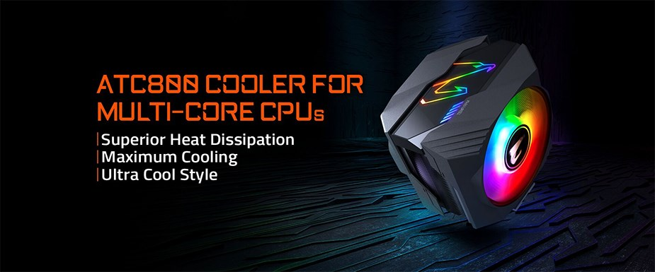 Gigabyte AORUS ATC800 RGB CPU Air Cooler - Overview 1