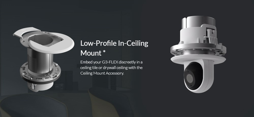 Ubiquiti Networks Indoor Ceiling Mount for UVC-G3-FLEX - Overview 1