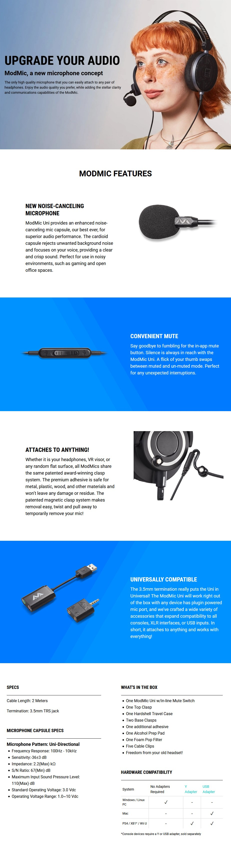 Antlion Audio ModMic Uni-Directional Microphone - Overview 1