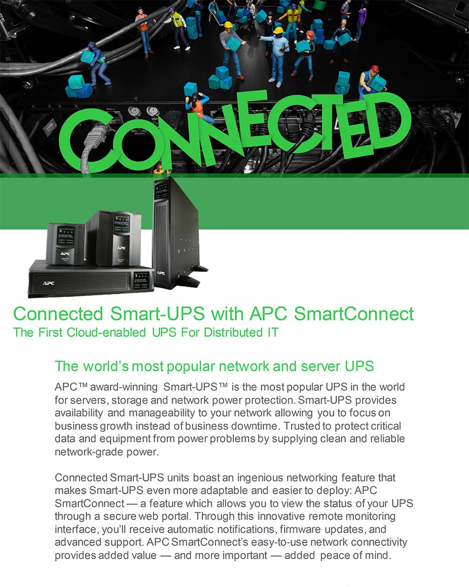 APC SMC1000IC Smart-UPS C 1000VA/600W Sinewave UPS with SmartConnect - Overview 2