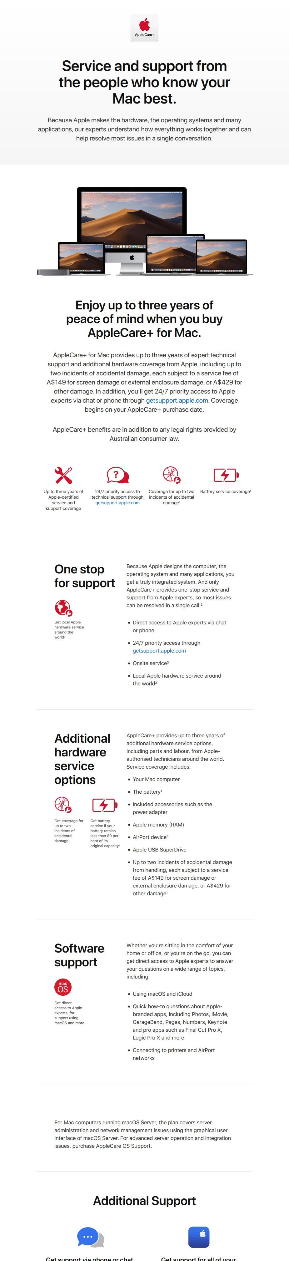 """AppleCare+ for 13"""" MacBook Pro - Desktop Overview 1"""