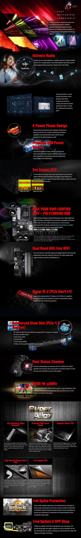 ASRock B550 Phantom Gaming 4/ac AM4 ATX Motherboard - Overview 1
