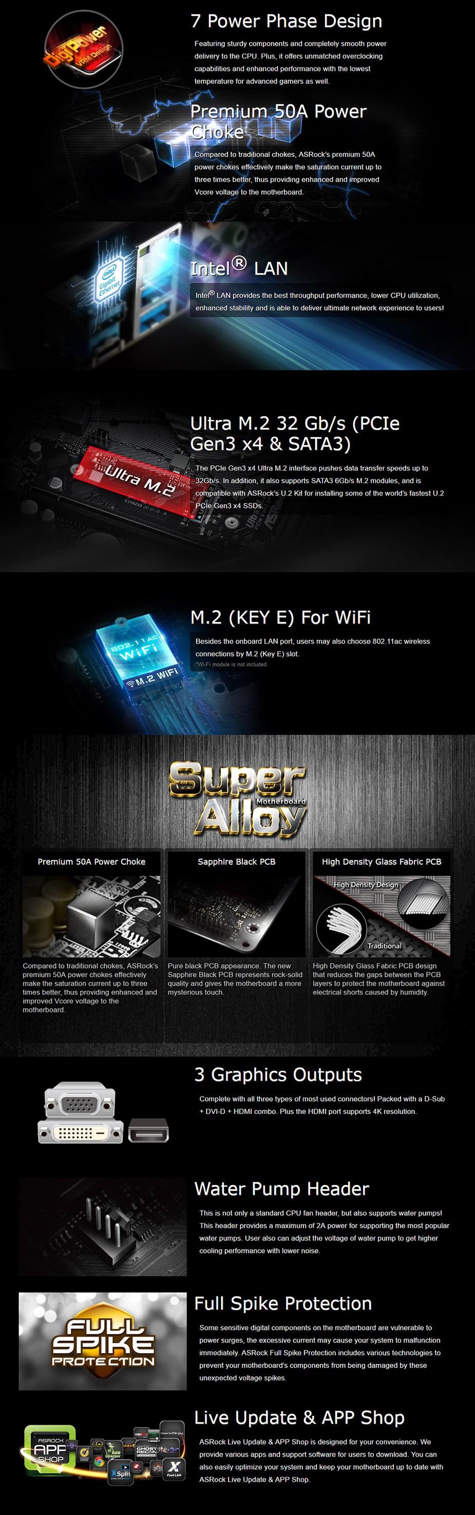 ASRock H410M HDV/M.2 LGA 1200 Micro-ATX Motherboard - Overview 1
