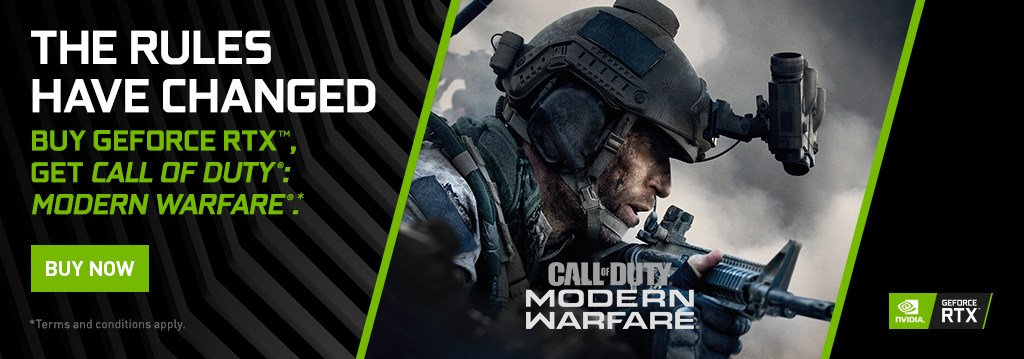 GeForce RTX 20 Bundle: COD MW