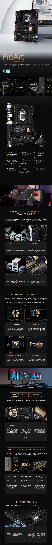 ASUS PROART Z490-CREATOR 10G LGA 1200 Motherboard - Overview 1