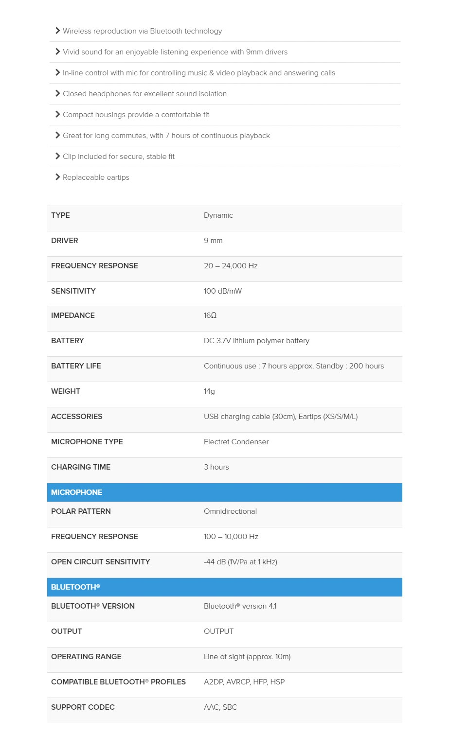 Audio-Technica CK200BT Wireless In-Ear Headphones - White - Overview 1