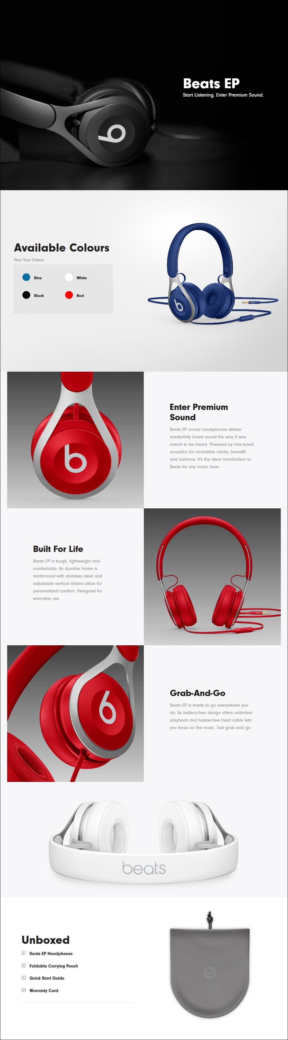 Beats EP On-Ear Headphones - Overview 1