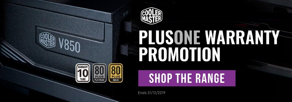 CM PlusOne PSU Promo