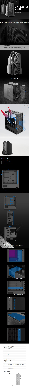 Deepcool Matrexx 55 Mesh Mid-Tower E-ATX Case - Black - Overview 1