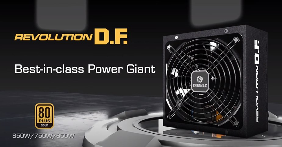 Enermax REVOLUTION D.F Series 650W 80+ Gold Fully Modular Design - Overview 1