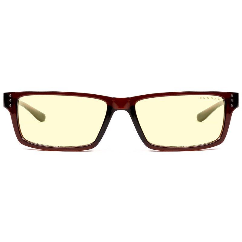 Gunnar Riot Espresso Amber Indoor Digital Eyewear - Overview 1