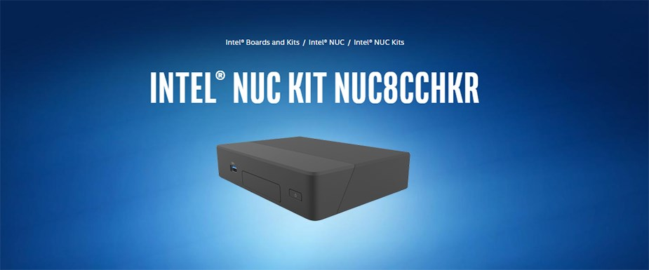 Intel BKNUC8CCHKR Rugged NUC Kit - N3350 4GB 64GB eMMC no OS - Overview 1