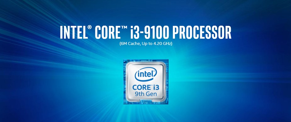 Intel Core i3-9100 Quad Core LGA 1151 3.60 GHz CPU Processor - Overview 1