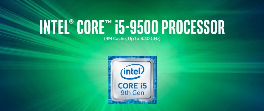 Intel Core i5 9500 Hexa Core LGA 1151 3.00 GHz CPU Processor - Overview 1