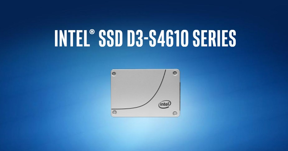 "Intel D3-S4610 960GB 2.5"" SATA 3D NAND TLC Enterprise SSD - Overview 1"