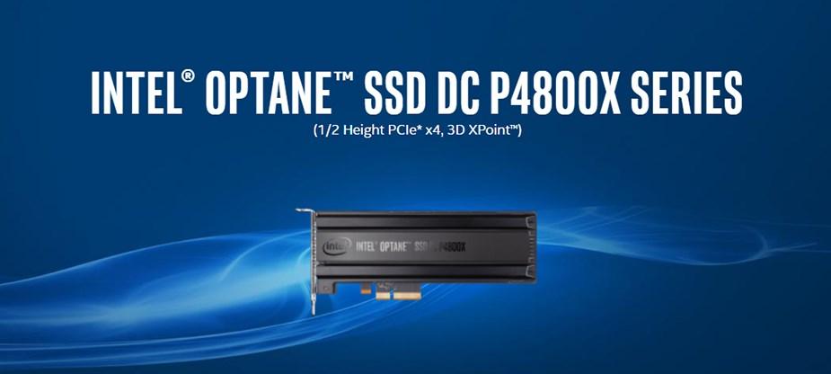 Intel Optane DC P4800X Series 375GB HHHL (CEM3.0) PCIe SSD SSDPED1K375GA01 - Overview 1