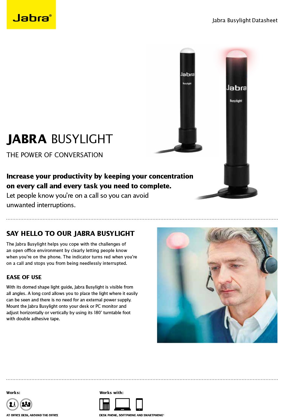 Jabra Busy Light Indicator - Overview 1