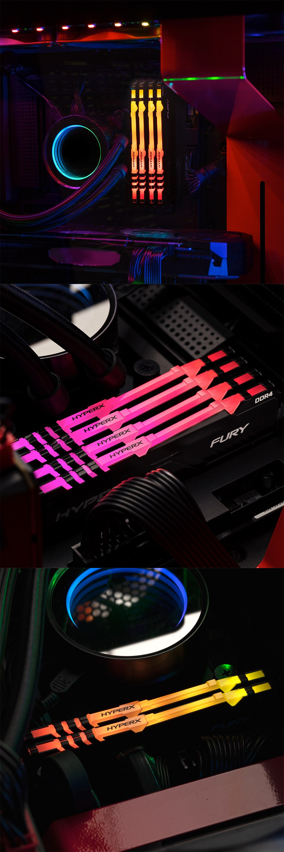 Kingston HyperX Fury RGB Memory - Overview 2