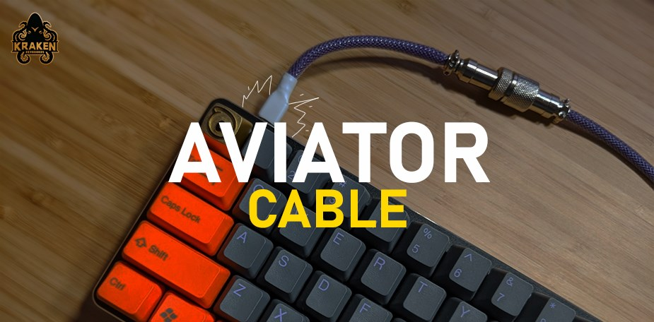 Kraken Keyboards Aviator Paracord Keyboard Cable - Pic 1