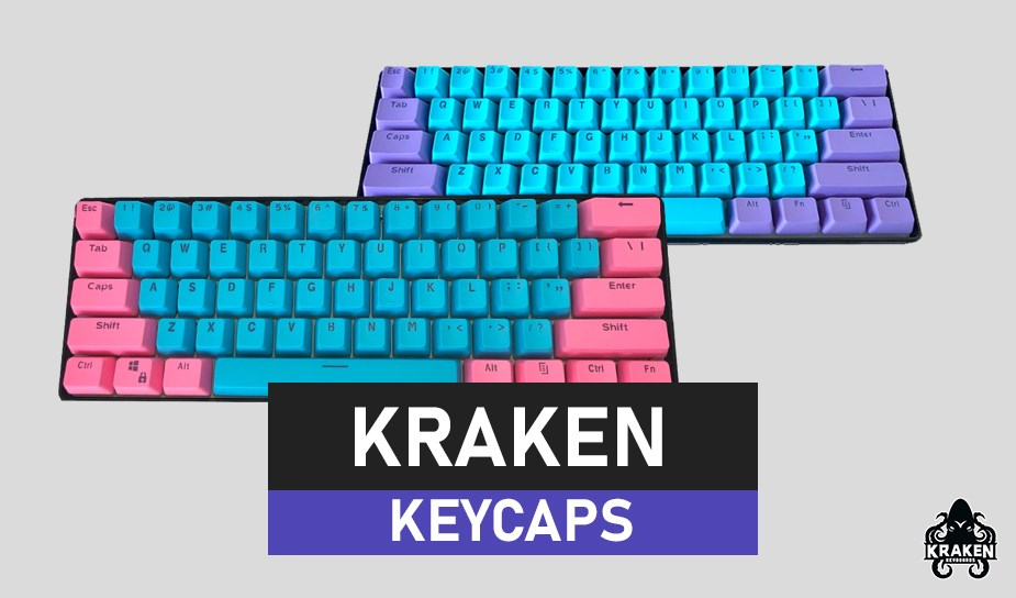 Kraken Keyboards Keycap Set - Overview 1