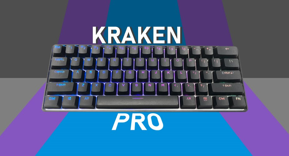 Kraken Keyboards Kraken Pro Compact Mechanical Keyboard - Pic 1