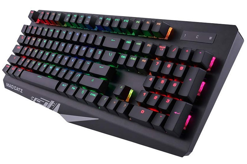 Mad Catz S.T.R.I.K.E. 4 Membrane Gaming Keyboard - Black - Overview 2