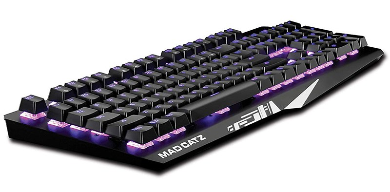 Mad Catz S.T.R.I.K.E. 4 Membrane Gaming Keyboard - Black - Overview 3